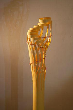 Geelspiraal - 150x20x20 Kunststof - 2013 - Verkocht -1